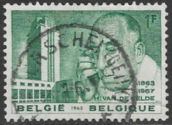 Belgium SG1872 1963 H Van De Velde Commemoration 1f Good/fine Used [33/28708/6D] - Belgium