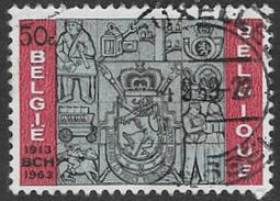 Belgium SG1873 1963 50th Anniversary Of Belgian Postal Cheques Office 50c Good/fine Used [33/28709/6D] - Belgium