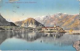 Cartolina Illustrata Baveno E Isola Superiore 1912 - Verbania