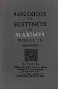 MAXIMES ET RÉFLEXIONS PAR LA ROCHEFOUCAULD CLUB FRANÇAIS DU LIVRE 1961 [BARTHES] - Psychologie/Philosophie