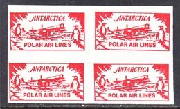 ANTARCTICA  POLAR  AIR  LINES  X 4  ** - Stamps