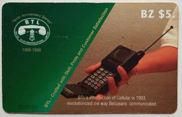 Belize Phonecard $5 Cellphone Promo