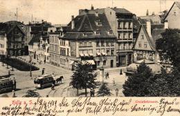 Halle......nette Alte Karte   ( K5829  ) Siehe Bild ! - Zonder Classificatie