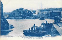 29-348 - FINISTERE - CONCARNEAU - Le Passage Lauriec - Concarneau