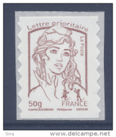 N° 855 Marianne Adhésif Année 2013, Valeur Faciale 50g - Francia