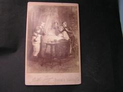 Card Bord Storchnest , Berlin  Ca. 1900 - Alte (vor 1900)