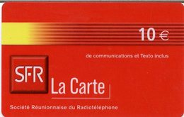 @+ Recharge SFR De La Réunion - 10€. Date Limite : 09/04