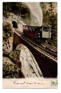 SUISSE . PILATUS-BAHN . WOLFORT VIADUCT . TRAIN . FUNICULAIRE - Réf. N°507 - - OW Obwalden
