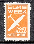 NETHERLANDS  INDIES  AEROPHILATELIC  LABEL  * - Niederländisch-Indien