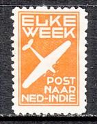 NETHERLANDS  INDIES  AEROPHILATELIC  LABEL  * - Indes Néerlandaises