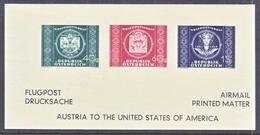 AUSTRIA   AEROPHILATELIC  UNLISTED  FLUGPOST   U.P.U.     ** - Airmail