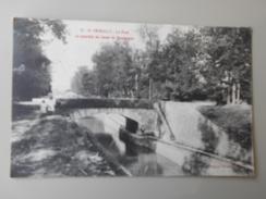 COTE D'OR ST-THIBAULT LE PONT ET TRANCHEE DU CANAL DE BOURGOGNE - France