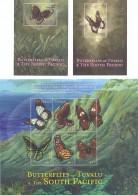 5 Feuillets **/MNH - Papillon De Tuvalu - Butterflies