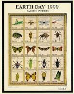 Feuillet Papillons - Insectes Palau - - **/MNH - Butterflies