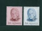 Monaco   Timbres De 1996   N°2055 Et 2056   Neuf **  Vendu A La Faciale - Monaco