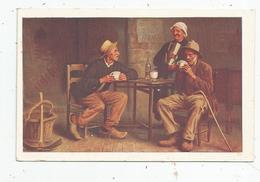 Cp , Publicité , CHOCOLAT J. MOREAU , AUXERRE , Le Bon Café , Bar , Illustrateur , Café - Werbepostkarten