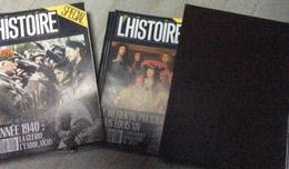 15 Numéros De L' Histoire (1989 à 1991) : N° 125/126/128 à 140 (dans Coffret Reliure L'Histoire) - Geschiedenis