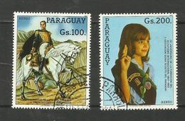 Paraguay POSTE AERIENNE N°948, 949 Cote 3.50 Euros - Paraguay
