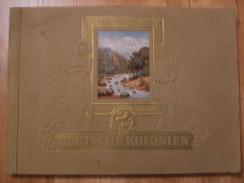 Album Chromos Deutsche Kolonien Colonie Allemande Manque 1 Image - Album & Cataloghi