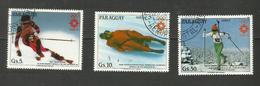 Paraguay POSTE AERIENNE N°964 à 966 Cote 6.50 Euros - Paraguay
