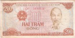 VIET NAM   200 Dong   1987   P. 100b - Vietnam