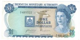 Bermuda 1 Dollar, 1976, XF . Free S & H To USA. - Bermudas