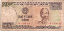 VIET NAM   2000 Dong   1987 (1988)   P. 103a - Vietnam
