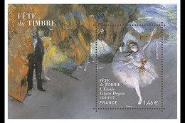 Frankrijk / France - Postfris / MNH - Sheet Dag Van De Postzegel, Edgar Degas 2017 - Ungebraucht