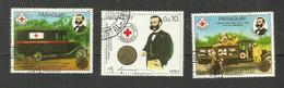 Paraguay POSTE AERIENNE N°987 à 989 Cote 5.50 Euros - Paraguay