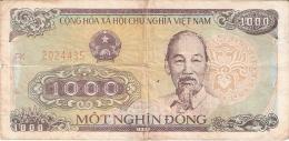 VIET NAM   1000 Dong   1988 (1989)   P. 106b - Vietnam