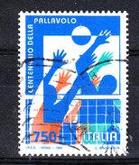 Italia   -   1995.  Centenario Del Volley. Viaggiato - Volleyball