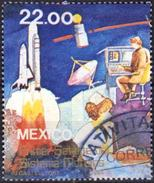 Mexico 1985 1 V Used Space Launch Of The First Satellite Communication System  Morelos