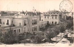 TUNISIE BIZERTE LE NOUVEAU PALAIS DU GOUVERNEUR CIRCULEE 1917 - Túnez