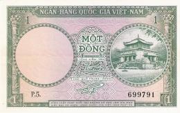 SOUTH VIET NAM   1 Dong   ND (1956)   P. 1a   SUP+ - Vietnam