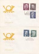 DFDC Mi.Nr. 2025-29 Bedeutende Persönlichkeiten 1975, Berlin 1085 - FDC: Sobres