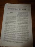 1864  Le Fantôme De Boppard, à Cinq Minutes Du Chemin De Fer De Coblentz; Docteur Frantz Igel à Carlsuhe (sur 7 Pages) - Vieux Papiers