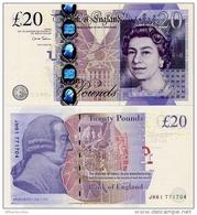 GREAT BRITAIN       20 Pounds      P-392b       2006 (ca. 2012)        UNC  [ Sign. Salmon ] - 1952-… : Elizabeth II