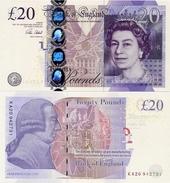GREAT BRITAIN       20 Pounds      P-392[c]       2006 (ca. 2015)        UNC  [ Sign. Cleland ] - 1952-… : Elizabeth II