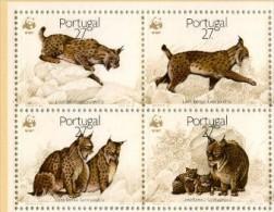 PORTUGAL WWF, Felins. Yvert 1721/24 ** Neuf Sans Charniere. MNH. - Ungebraucht