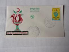 TUNISIE (1959) CROISSANT ROUGE - Tunisie (1956-...)