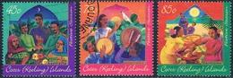 Iles Cocos - Fête Hari Raya Puasa 324/326 Oblit. - Cocos (Keeling) Islands