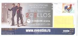 """LUKA SULIC & STJEPAN HAUSER  """" 2CELLOS"""" WORLD TOUR 2017 - Kroatien"""