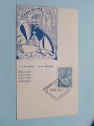 SEMANA DEL MAR ( Primer Dia De Emision ) Stamp 31 ENE 1944 ( Voir / Zie - Photo / Foto ) E. R. Bianchi ! - FDC