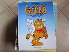 GARFIELD T18 DORT SUR SES DEUX OREILLES  JIM DAVIS - Garfield