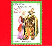 KAZAKISTAN  - Usato - 2013 - Costumi Nazionali - 250 -