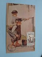TOM SAWYER () Stamp Hannibal MO 13 Oct 1972 First Day Of Issue ( Voir / Zie - Photo / Foto ) ! - Maximumkarten (MC)