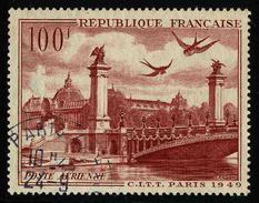 FRANCE - YT PA 28 - POSTE AERIENNE - TIMBRE OBLITERE - Poste Aérienne