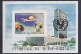 Guinée Bissau 1979 IYC AIE UNICEF Space Espace Imperf