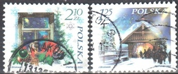 Poland 2004 - Christmas - Mi 3160-61 - Used Gestempelt - 1944-.... Republic