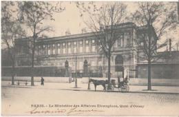 Dep  75 - Paris - Le Monistère Des Affaires Etrangères , Quai D' Orsay  - Carte à 0.90 Euro  : Achat Immédiat - Non Classificati